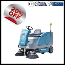 SDK1600 CE China industrial electric vacuum road sweeper truck
