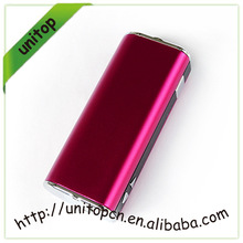 Super vapor Unitop ecig mod box made in china online selling 2200mah vv/vw mod