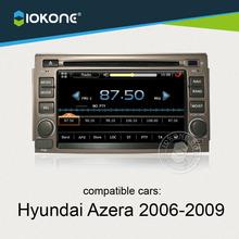 dashboard touch screen car radio stereo player with GPS navigation for Hyundai Azera 2006 2007 2008 2009