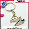 Best selling metal zinc alloy cute frog keychain