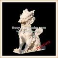 la main la sculpture en marbre chinois dragon