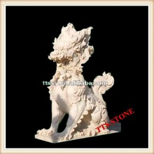 Hand Carving Chinese Marble dragon
