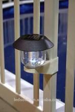 Led lumière solaire de clôture, lumière mur solaire, escalier de lumière solaire