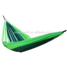 Nylon parachute hammock outdoor portable double hammock