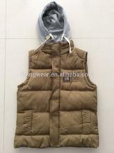 Men Cotton Warm Winter Windproof Waistcoat ,Vest Stock Outwear