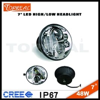 2015 High quality led headlight for bajaj 150cc pulsar motorc