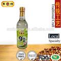 500ml 9 grado de acidez blanco vinagre de arroz para la fabricación de sushi de encurtidos