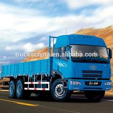 RHD Most Best Selling FAW 15T 6X4 medium cargo truck