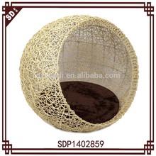 SD 2015 new style handmade rattan cheap dog house