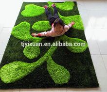 high quality bedroom 3d shaggy carpet