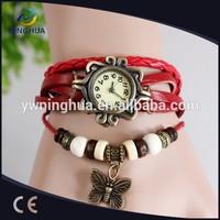 Good Price Butterfly Pendant Vintage Retro Wrap Bracelet Watch