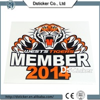 China factory made sound activated car sticker