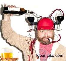 2015 Hot Sale Beer Drinking Helmet