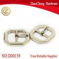 streetwear especiales de rodillo de tipo pin hebilla de metal para complemento de cuero correa llano