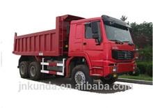 sinotruk howo 6x6 three axles 10 wheel drive dump truck with 3 axle in discount