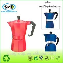 Italy Aluminum 6-Cup Stovetop Espresso Coffee Maker
