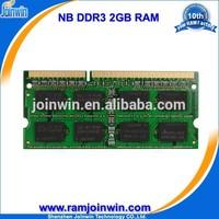 2015 1 Piece trial order ddr3 2gb ddr 1333 laptop memory
