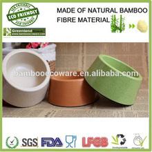 hotsale greenland natural bamboo bright colors bowl pet pot dog bowl bird bowls