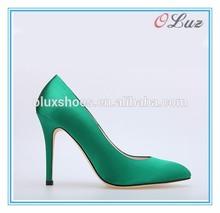 happy life satin elegance bridal wedding shoes