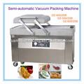 Carne fresca máquina de embalagem a vácuo, Cabeça de casal Compress máquina de embalagem a vácuo