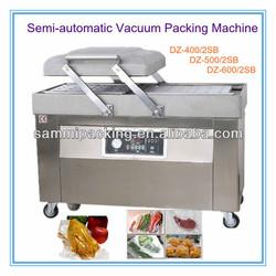Fresh Meat Vacuum Packing Machine,Double Head Compress Vacuum Packing Machine