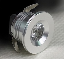12v led puck light/shelf cabinet Light/3w mini led downlight 12v