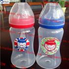 2014 HOT super quality plastic bottle/Cartoon Feeding bottle