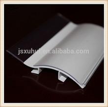 Store Fixture PVC Ticket Holder Label Holder for Shelf System