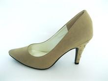 Fashion High Heel Suede Dress Shoes for Women