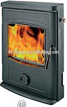 Wood burning modern steel fireplace insert GR-357i