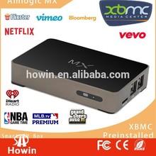 ARM xbmc android 4.2 google smart tv box dual core wireless internet tv box