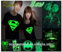 Mens hip hop Fashion Tshirt Spider,iron,Superman Rock Punk Tshirt-Men Punk Neon music hip-hop Print tshirts/Club Novelty t shirt