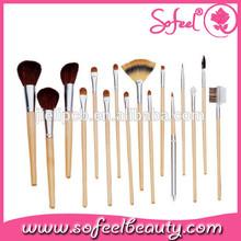 Sofeel 18pcs good cheap make up brush sets