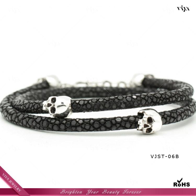 Skull Bracelets Wholesale Skull Bracelet,germany Pvd