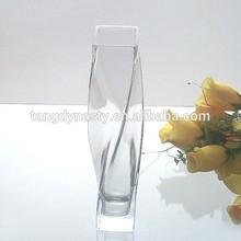 Good quality glass vase flower vase ,tall glass vases