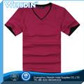 Garment dyed hot vente polyester / coton oem bébé vierge t-shirts gros