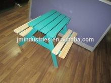 new design outdoor garden teak wood adapt table