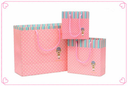The three piece suit gift paper bags/Different colors for you to choose