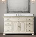 antico francese vintage legno mobili da bagno