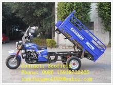 Turkmenistan 250cc KAVASAKE cargo motorcycle