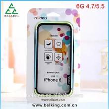 Wholesale bumper for iphone 6 plus soft rubber silicone bumper