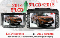 Android 4.4.2 car dvd gps fit sorento 2015