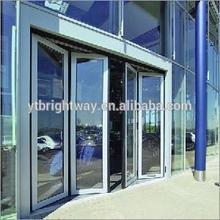 Brightway China Supplier aluminium thermal break folding door made in China