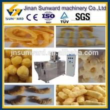 Stainless steel OEM corn puffed equipment, corn puff making machine, snack food production line