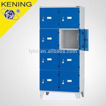 10 door Metal locker with foot