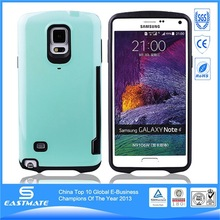 Charming design matte rubberized hard case for samsung galaxy note4