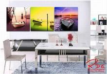 3 Piece Asian Canvas Art