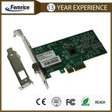 PCI Express 100Base-SX/LX Fiber Optic NIC ,LC,Single SFP Port Network Adapter