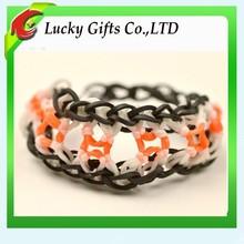 Hot Twist Novelty Tyvek Elastic Braided Bracelet for Girls