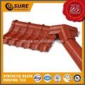 europeu de barro vermelho telha a telha de resina sintética